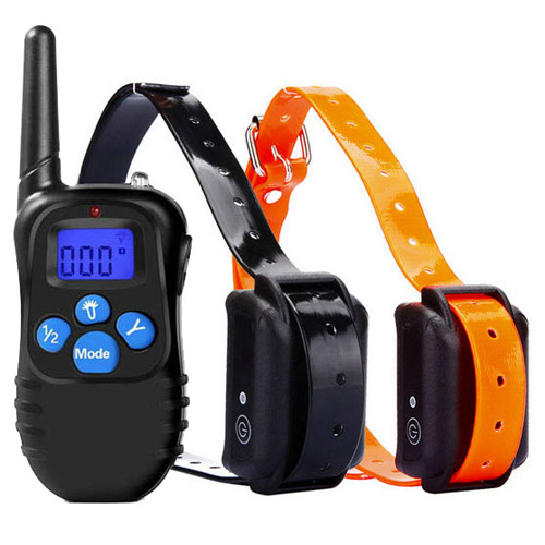 Rechargeable 330 Collier à distance Dog YD Shock formation pour 2 chiens